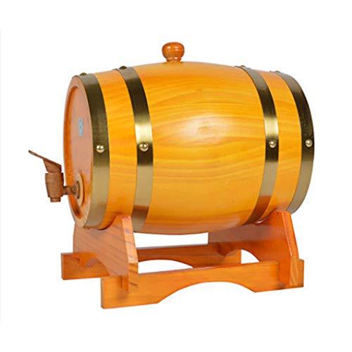 Barriles De Roble,Barriles De Vino,Dispensador De Barriles De Whisky,Papel De Aluminio Incorporado En El Forro,con Grifo,Barra De Almacenamiento De Bebidas Espirituosas