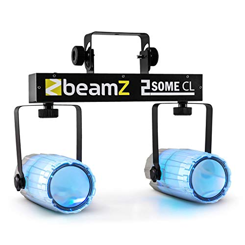 BeamZ 2 Some Clear Set Luci RGBAW-LED Moonflower Microfono integrato