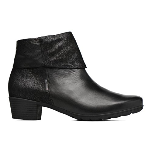 Mephisto Womens Iris Leather Boots Black