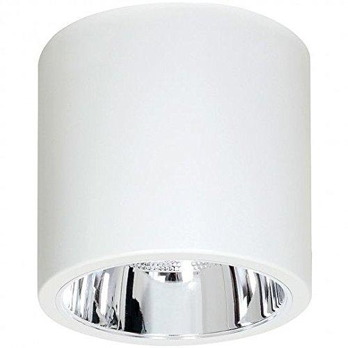 Elegante Deckenleuchte in Weiß Bauhaus Design 1x E27 bis zu 60 Watt 230V aus Metall & Flur Küche Esszimmer Lampe Leuchten innen