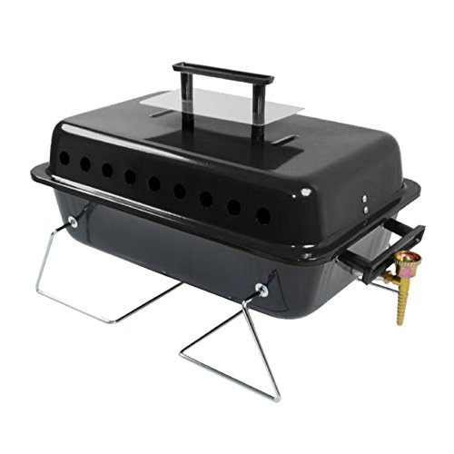 Billyoh table top portable gas bbq outdoor camping cooker stove barbecue grill rattan - Table top barbecue grill ...