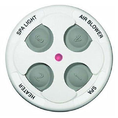 Jandy Zodiac 7443 Aqualink 4 Function Spa-Side Remote 150' Cord - White
