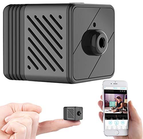 7links Minikameras: Micro-IP-Kamera mit Full-HD, Akku, PIR, Nachtsicht, 6 Monate Stand-by (Mini IP Camera)