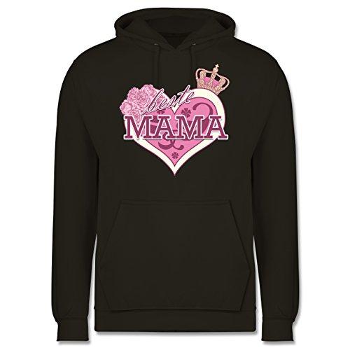 Statement Shirts - Beste Mama - Männer Premium Kapuzenpullover / Hoodie Olivgrün