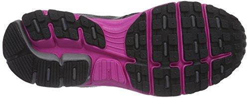Lotto Zenith Vi W, Chaussures de course femme Multicolore - Mehrfarbig (BLK/PNK BER)