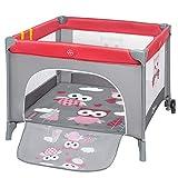 STELLA Parc bébé pliant 6 mois à 3 ans + sac + moustiquaire Rose