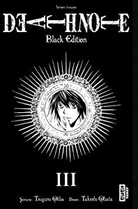 Death Note Black Edition Tome 3