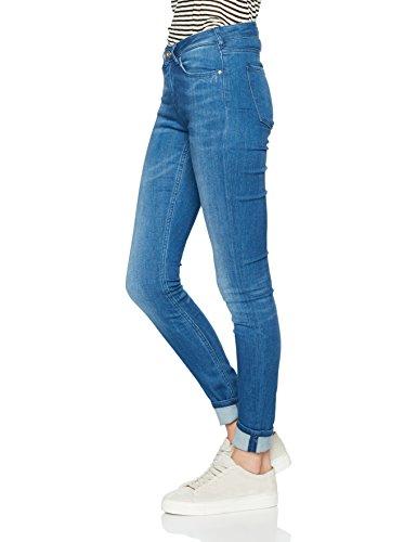 Scotch & Soda Maison Damen Slim Jeans La Bohemienne-Rocking Blue Blau (Rocking Blue 1758)