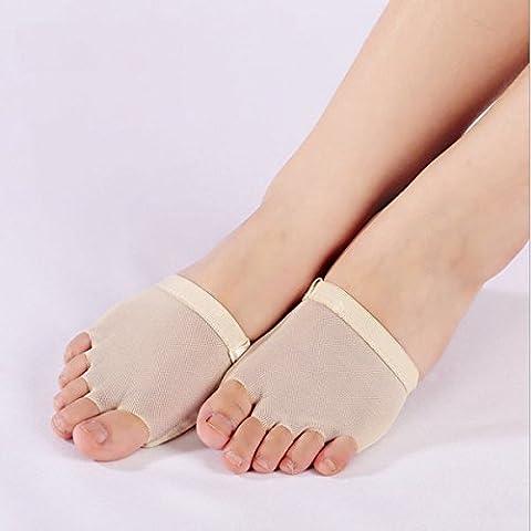 Pies de baile moderno conjunto de danza del vientre danza del dedo del pie Pad Suministros de Danza