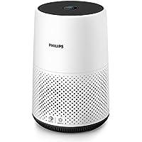 Philips AC0820/10 Purificador De Aire Para Hogar, Elimina Hasta 99,5% De Los Alérgenos, Tamaño Compacto Con Indicación En Color Y Silencios, Blanco, Superficie: 49 m²