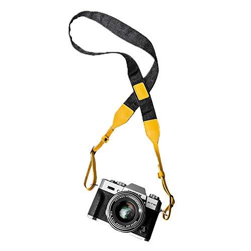 ZJY Kamera Schulterriemen - Länge verstellbar Leder Material Komfortable Textur Neuartige Farbe - Ideales Fotozubehör - Geeignet für Digitale Spiegelreflexkameras -