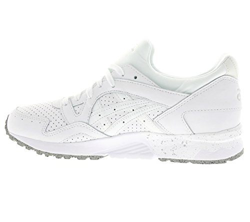 SCARPE ASICS GEL LYTE V H5X4L 0101 SNEAKERS UOMO LEATHER TOTAL WHITE Weiß