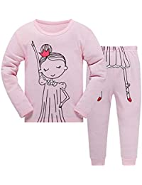 Conjunto de Pijama para bebés y niñas, diseño de Jirafa de Caballo, 2 Piezas