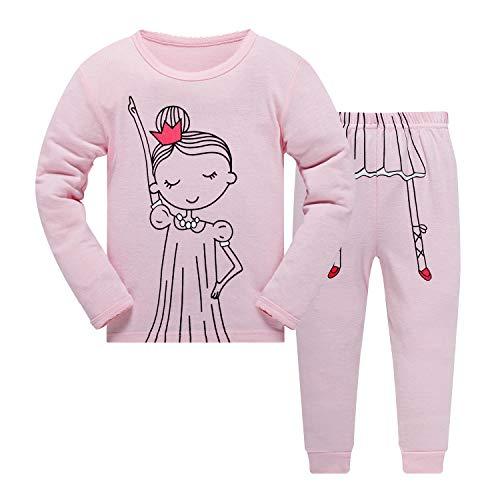 Jungen Mädchen Schlafanzug Giraffe Baumwolle Weihnachten Kinder Pajama Langarm Herbst Winter Nachtwäsche