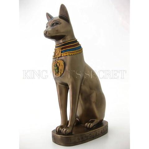 Gato del antiguo Egipto Dios Estatua De Gato Bast diety