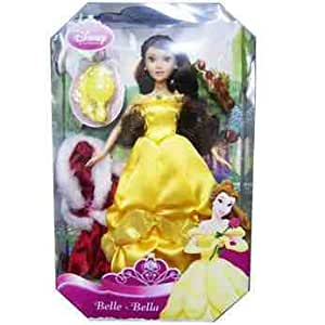 Disney, Beauty and the beast, Princess Charms Doll - Belle with accessories
