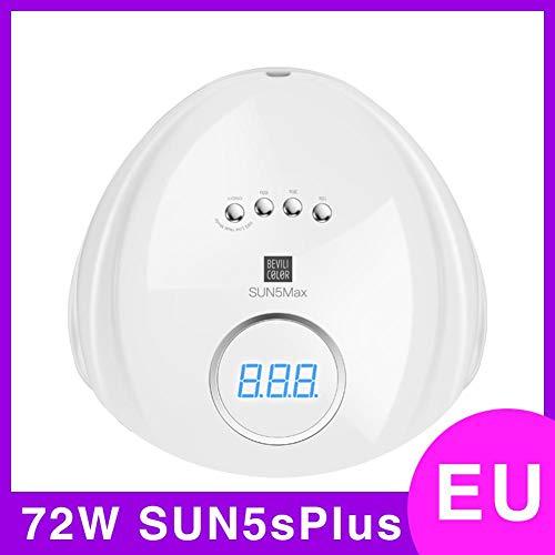 108W/72W UV LED Secadores De Uñas De Gel - DEQUATE