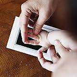 Tampon d'empreinte d'empreinte de main de bébé nouveau-né Coffre-fort facile à nettoyer Tampon encreur non toxique pour photo avec empreinte de pied de main Magnifique souvenir de Ballylelly