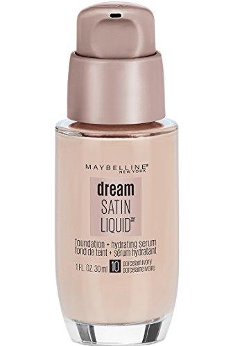 MAYBELLINE - Dream Satin Liquid Foundation Porcelain Ivory 10-1 fl. oz. (30 ml) (Maybelline Foundation Flüssigkeit)