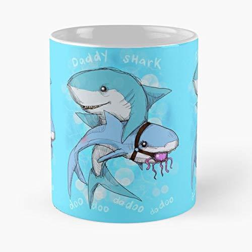 Medical student medicine doctor baby shark mommy daddy bdsm kids song funny mug coffee mugs - il migliore regalo per tazza da caffè in ceramica da 11 once