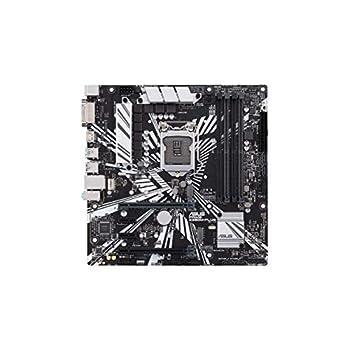 ASUS Prime Z390M-PLUS Scheda Madre Intel Z390 mATX con OptiMem II, DDR4 4266 MHz, Dual M.2, HDMI, Predisposizione Memoria Intel Optane, SATA 6 Gb/s, USB 3.1 Gen 2