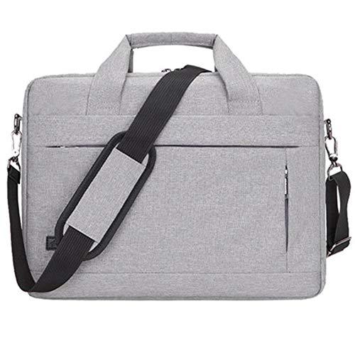 """16,5""""Laptop-Tasche, Vielseitiger Stoff mit Wasser- und Stoßfester Business-Aktentasche, verstellbarer Schultergurt und Rückhaltefunktion,A,15.6"""