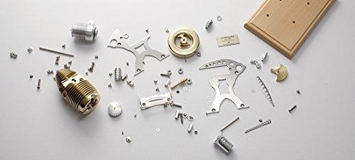 Böhm Stirling Technik Heißluft/Stirling Modell Wissenschaftliches Spielzeug HB24-kit, Bausatz, Natur