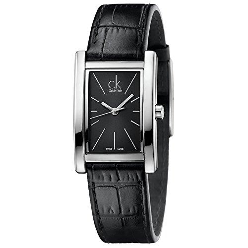 Calvin Klein Damen-Armbanduhr Analog Quarz Leder K4P231C1
