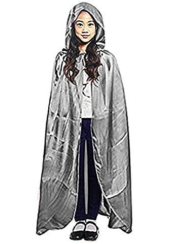 Costumes Garçons Vampire - Halloween Cape à Capuche Poncho avec Capuchon