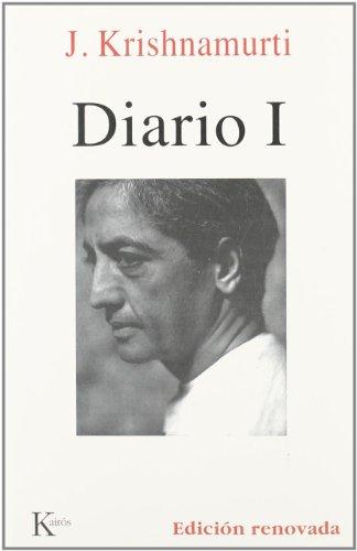 Diario I (sabiduría Perenne) por Jiddu Krishnamurti