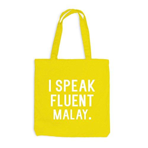 Jutebag - Parlo Fluentemente Malese - Linguaggio Giallo