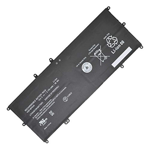 BPX 15V 48Wh 3170mAh VGP-BPS40 Replacement Laptop Battery for Battery Sony Vaio Flip VF14A SVF14N SVF14NA1UL SVF14N11CXB SVF15A SVF15N SVF15N17CXB SVF15NB1GL SVF15NB1GU SVF15NA1GL Series Notebook (15 E-serie Sony Vaio)