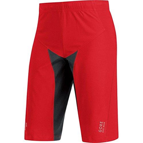 10b7949ebb87 GORE WEAR Men's Twpalp Alp-x Pro Ws SO Shorts, Red/Black,