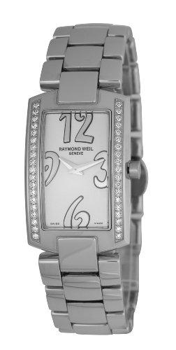 Raymond Weil Watches Shine 1800-ST1-05303 - Reloj analógico de cuarzo para mujer, correa de acero inoxidable multicolor