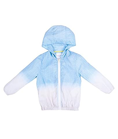 Oceankids Little Toddler Boys Sky Blue Windbreaker Lightweight Hoodie Summer Outdoor Jacket / Top /Outerwear, Sun UV Protection / Quick Dry / Waterproof , Faded Color Effect 2