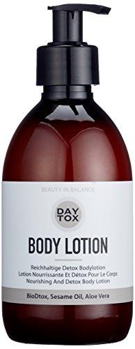 DAYTOX - Body Lotion - Reichhaltige, straffende Körperlotion mit Hyaluron, Sesamöl und Aloe Vera - Vegan, ohne Farbstoffe, silikonfrei und parabenfrei - 1 x 300 ml