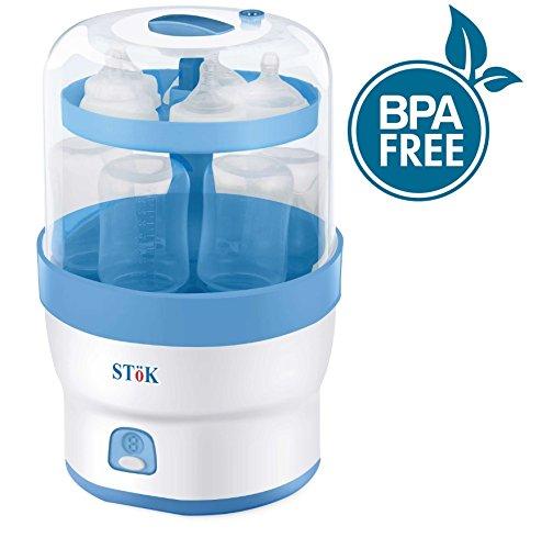 SToK (BPA Free) ST-ES01- For 6 Bottles- 3 in 1 Electric Steam Sterilizer / Steriliser for Baby Feeding bottles & other accessories