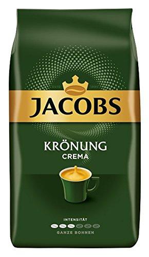 Jacobs Krönung Caffè Crema tutto Bohne Confezione da 4, (4x 1000G)