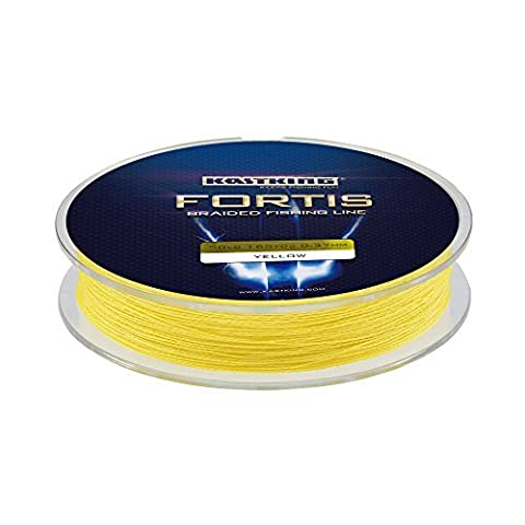 KastKing Fortis Braided Fishing Line, New Braid Line with Improved Formula, Stronger, Smoother, Fade Resistant (Yellow Submarine,
