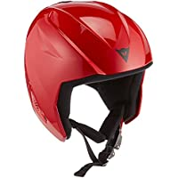 Dainese Snow Team Jr Evo, casco de esquí unisex niño, Snow Team Jr Evo, rojo