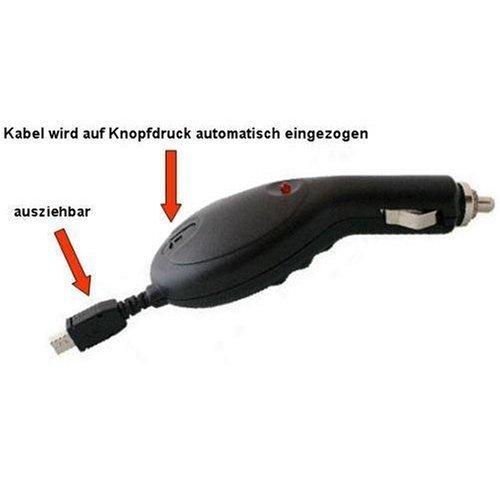 Optimal-Gsm Premium KFZ Ladekabel mit Aufrollmechanismus für Samsung SGH B100 / B130 / B2700 / B300 / B320 / B520 / C180 / C450 / D780 / D880 / E210 / F110 / F200 / F210 / F330 / F400 / F480 / F490 / F700 / G400 / G600 / G800 / i200 / i550 / i560 / i640 / i7110 / i780 / i900 / J150 / J700 / J800 / L170 / L700 / L760 / L810 / L870 / M110 / M150 / M200 / M310 / M3510 / M8800 / P520 Armani / S3030 /