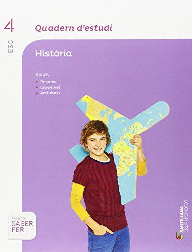 QUADERN D'ESTUDI HISTORIA 4 ESO - 9788490476888
