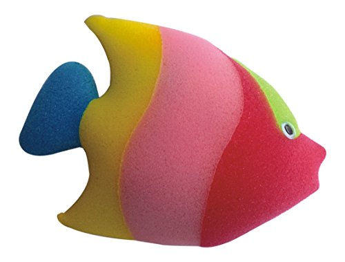 Panache Bath Sponge Fish, Kids Bathing Accessories, Bath Toys