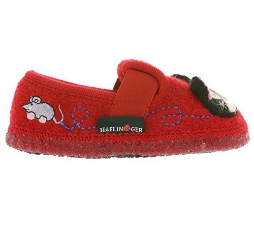 Haflinger, Pantofole bambini Rot