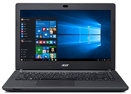 Acer Aspire ES1-431 14 Inch Notebook Windows 10 OS 500GB HDD 2GB RAM Black (Certified Refurbished)