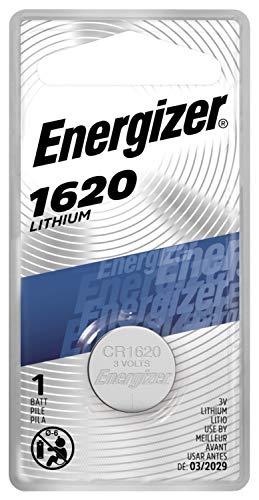 Energizer ecr1620bp nicht aufladbaren Batterie-nicht aufladbaren Batterien (Lithium, Button/Coin, CR1620, silber)
