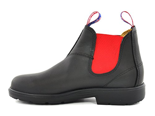 Blue Heeler Kids Chelsea Boot Tasmanian Devil black-red Black-Red