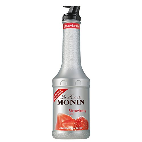 Monin - Strawberry Purée, 1er Pack (1 x 1 l)