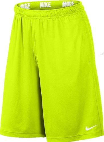NIKE Herren kurze Sporthose Fly Shorts 2.0, Volt/volt/white, XXL, 519501 (Vt Basketball)