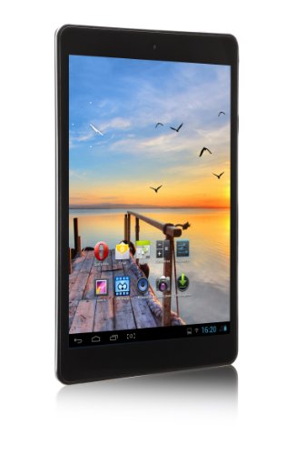 'MPMAN MPQC784IPS/4GB Tablet Touchscreen 7,85(19,94cm) Cortex Allwinner A31S 1GHz 4GB Android Jelly Bean 4.2.2WLAN schwarz/blau (Jelly Bean Tablet Android)